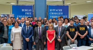 ICT Cluster - Burgas supports the young talents of HAKATON @ BFU 2018
